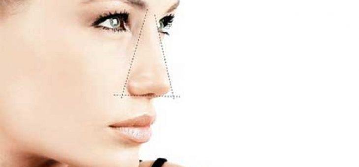 فاصله مناسب بینی از صورت | پروجکشن بینی