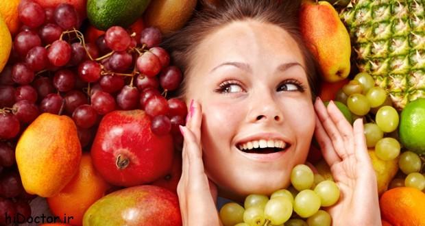 خوراکی ها ی مفید برای زیبایی پوست